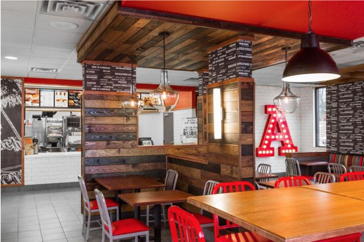 New store design for Arby's franchisees