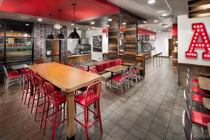 Arby's Inspire restaurant design