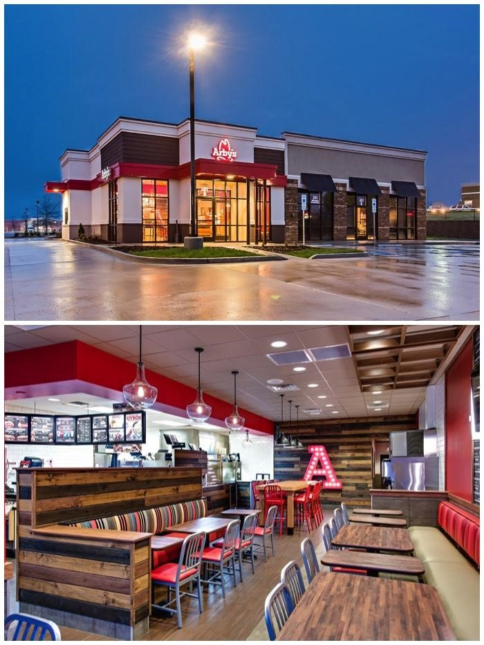Arby's new restaurant design